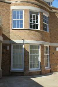 uPVC Sliding Sash Windows Deceuninck