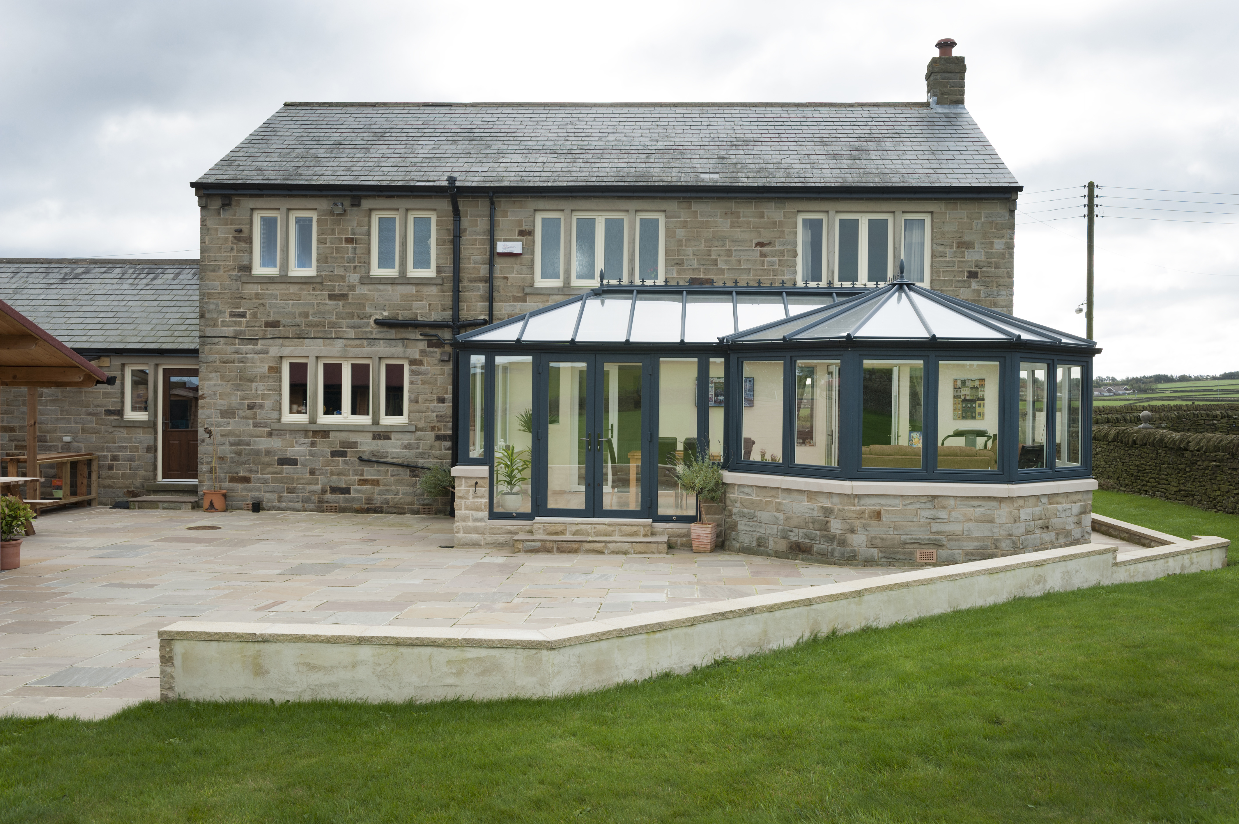 Glass Conservatory Roofs kirby