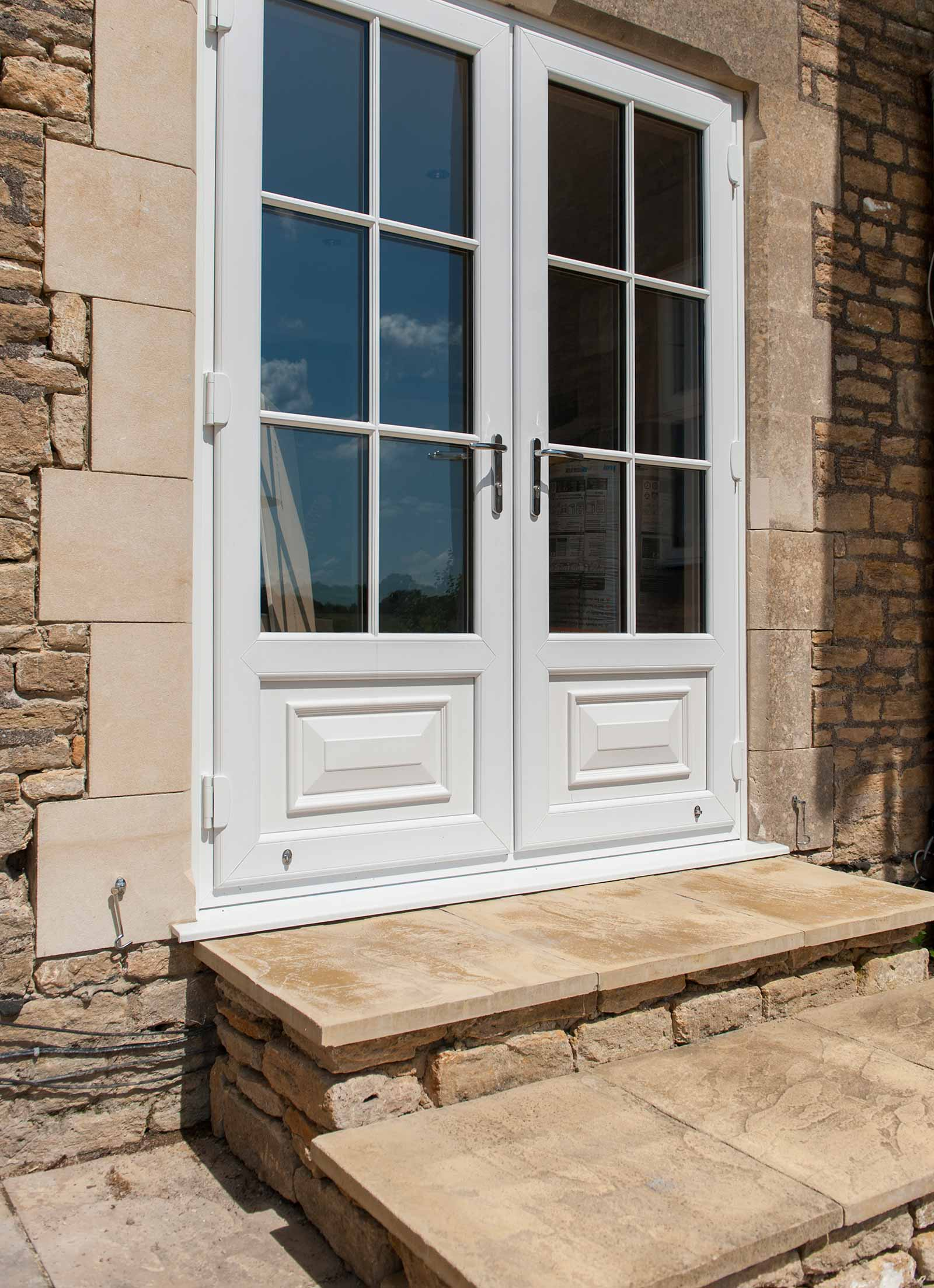Upvc french doors clacton on sea french door prices essex for Upvc balcony doors