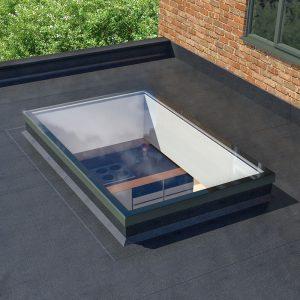 flat roof skylight clacton on sea